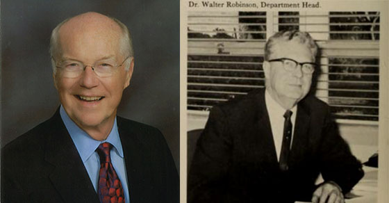 Bill and Walter Robinson