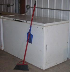 Cane River Food Pantry Freezer 2