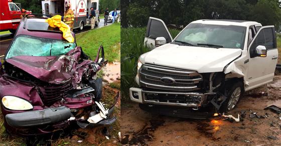 Crash on Hwy. 494