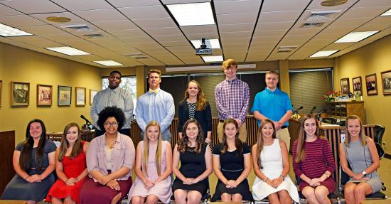 NPSB-Valedictorians 2017