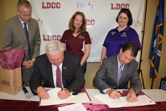 NSU, LDCC signing 2017