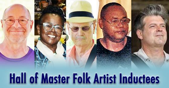 Folk Artist Inductees