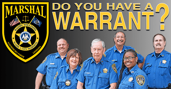 CITY MARSHAL'S OFFICE OUTSTANDING BENCH WARRANTS – January