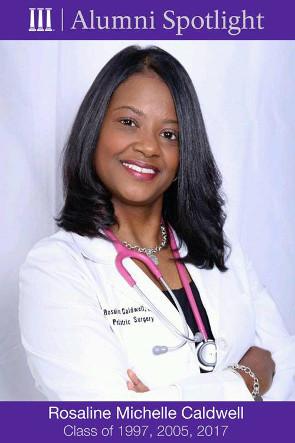 NSU Alumni Spotlight: Dr  Rosaline Caldwell | Natchitoches