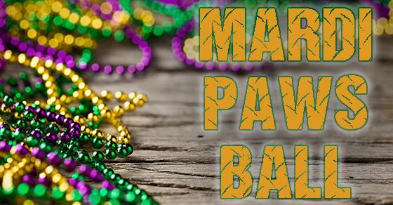 Mardi Paws Ball