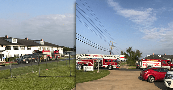 Fire at Willow Bend