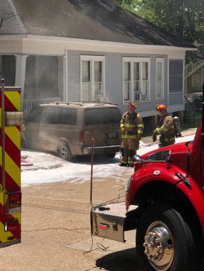 Van on Fire_2001
