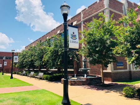 LSMSA Alumni Memorial Fountain (1).jpg
