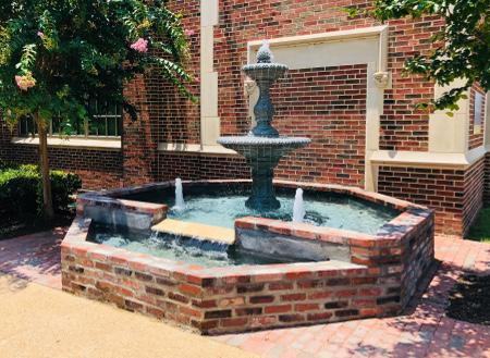 LSMSA Alumni Memorial Fountain (2)