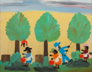 Pecan Picking by Clementine Hunter