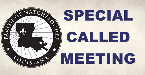 Parish Council Special Called Meeting
