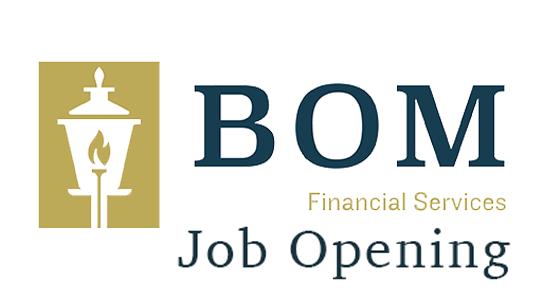 BOM Financial-Job-Opening