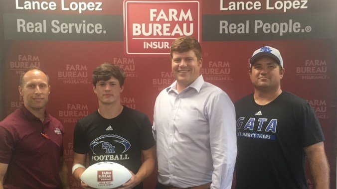 Player of the Week Parker Bankston