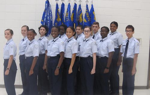 Lakeview Cadet Airmen