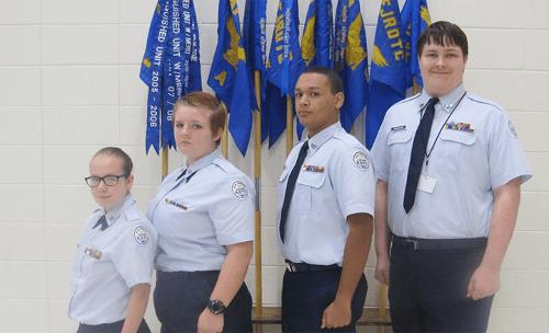 Lakeview Cadet Senior Airmen