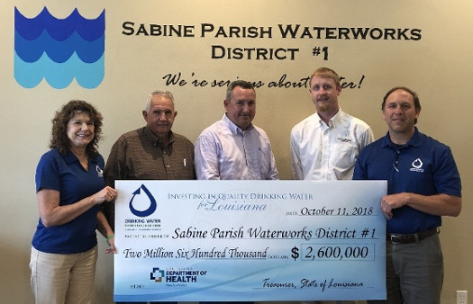 Water Grant Funds 11-2018