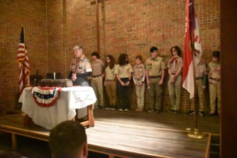 BSA Troop 60 Court of Honor Ceremony 2018 (3)
