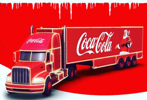 Coca Cola Christmas Truck Will Stop In The City Of Lights Natchitoches Parish Journal