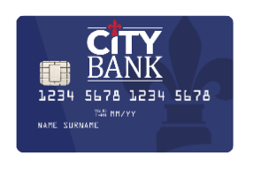City Bank Debit Card