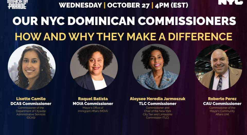 Our NYC Dominican Commissioners: How and Why They Make a Difference