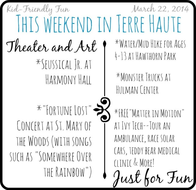 Fun for kids in Terre Haute March 22, 2014