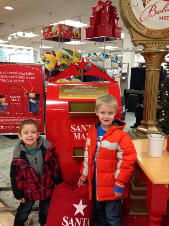 Where to mail letters to santa