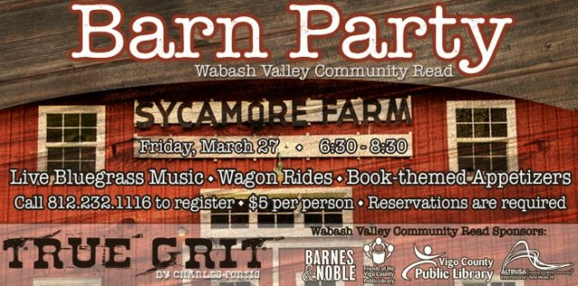 Wabash Valley Community Read Barn Party