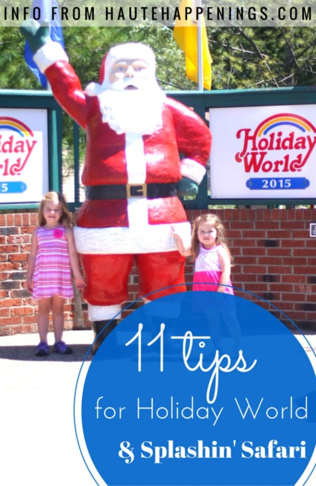 Visit one of the top amusement parks in the country! 11 Tips for Holiday World and Splashin' Safari with kids
