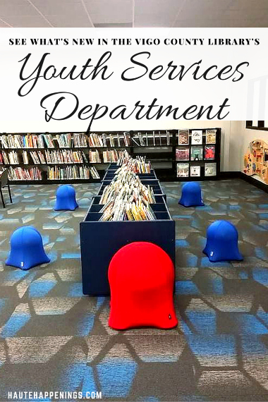 The remodel is finished! See what's new in the Youth Services Department at the Vigo County Public Library!