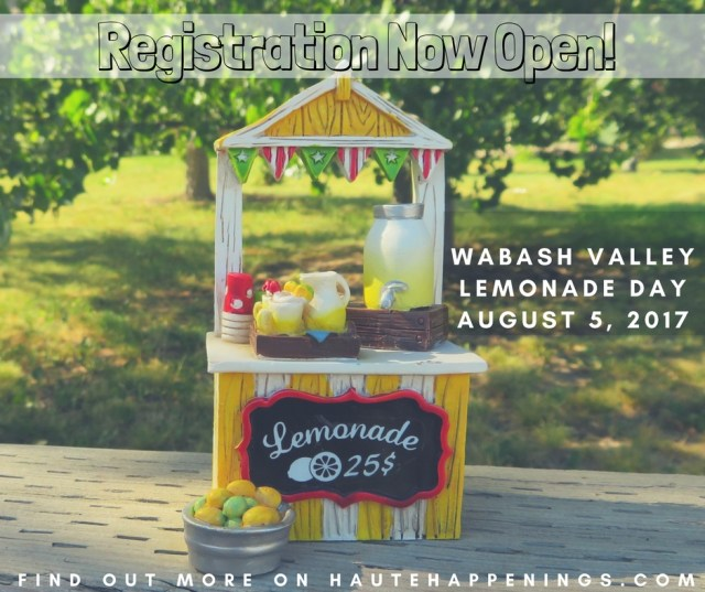 Register Your Stand for Wabash Valley Lemonade Day!
