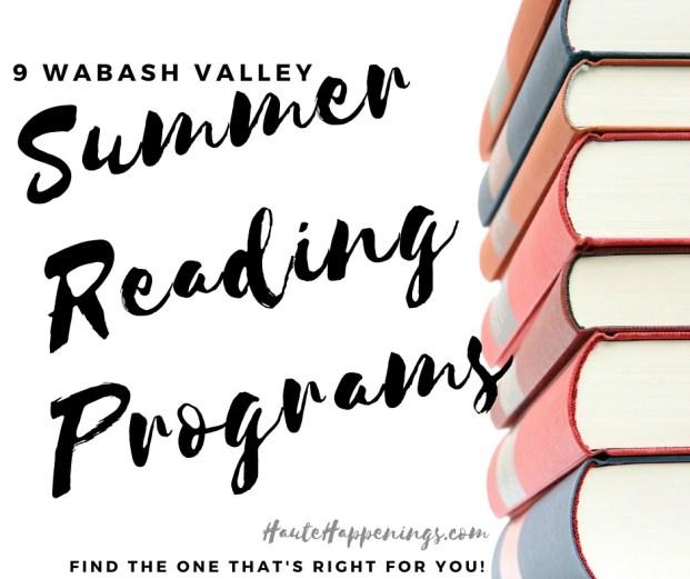 Wabash Valley Summer Reading Programs