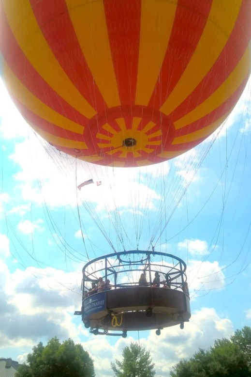 Balloon Ride at Conner Prairie in Fishers, Indiana