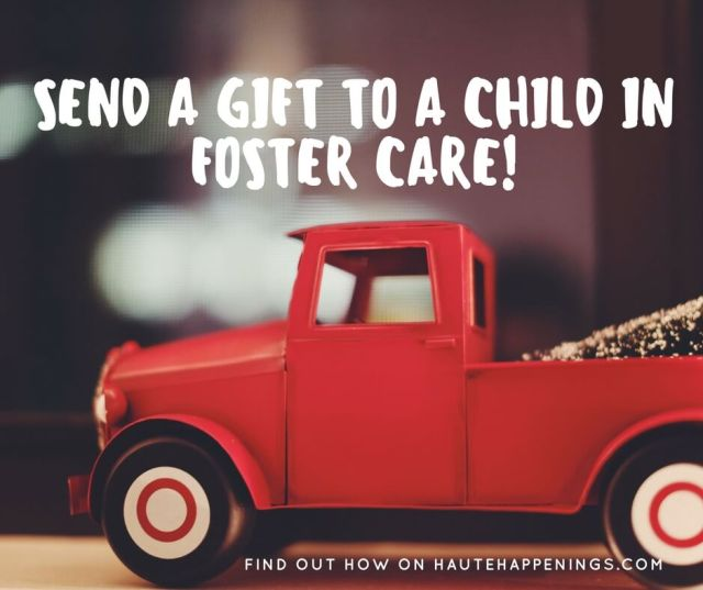 Send a Gift to a Child in Foster Care! Vigo County CASA program