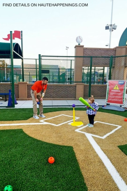 Baseball at the Sports Legends Experience