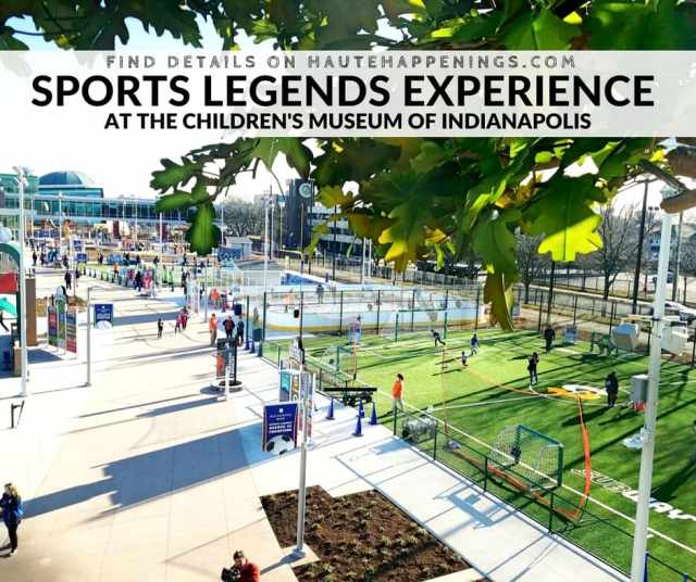 Sports Legends Experience at the Children's Museum of Indianapolis