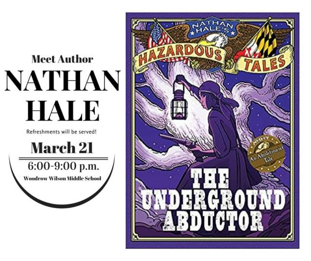 Author Visit with Nathan Hale in Terre Haute Indiana