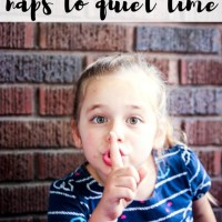 How to Peacefully Transition from Naps to Quiet Time. Plus 15+ Quiet Time Activities!