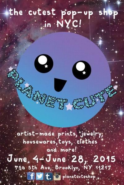 Planet Cute Flyer