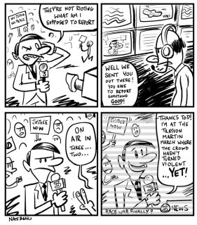 COMIC-TRAYVON MARCH