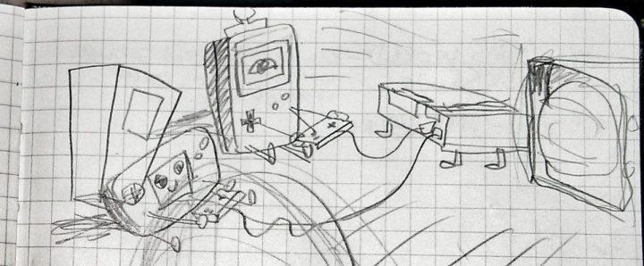 1st 8-bit Sketch