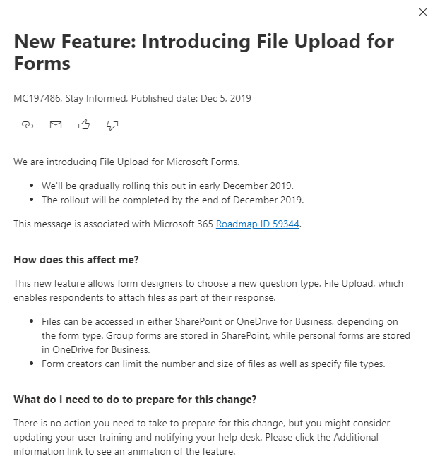 Introducing The File Upload Question Type For Microsoft Forms