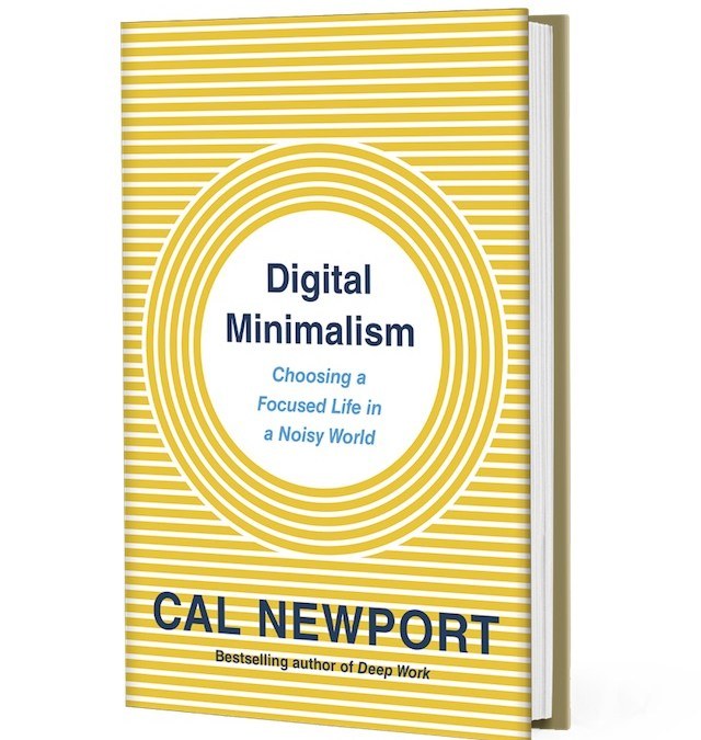 Minimalists Revolt: Cal Newport on Saving our Digital Discourse