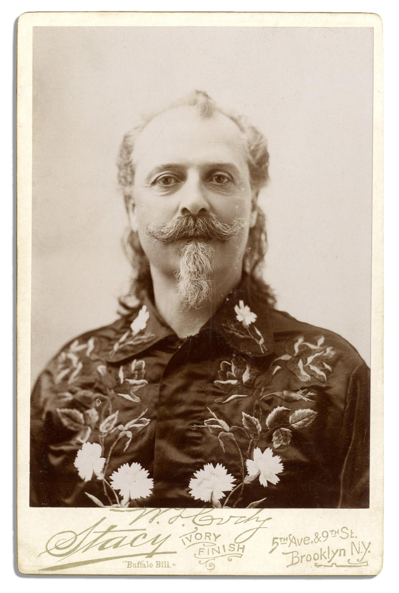Lot Detail  Buffalo Bill Cabinet Card Photo