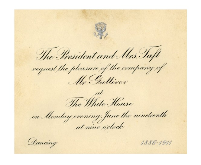 White House Wedding Invitation