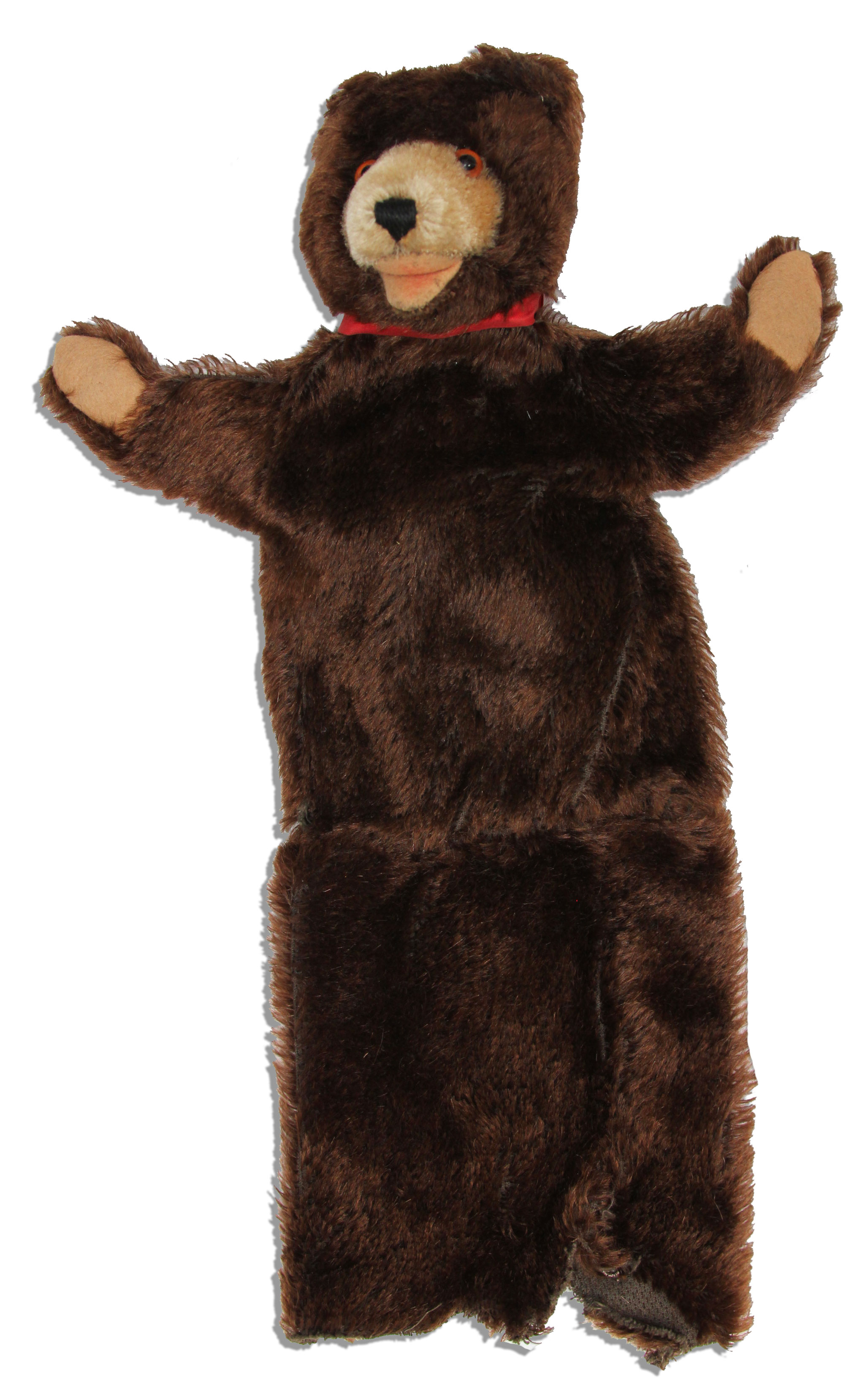 Lot Detail  Captain Kangaroo Bear Puppet  Made by