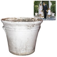 Lot Detail - Large Concrete Planter Owned by the Kennedys ...