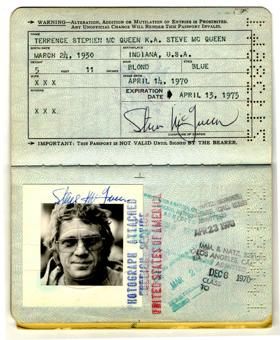 Sell Your Steve McQueen Memorabilia for 25000 or More at