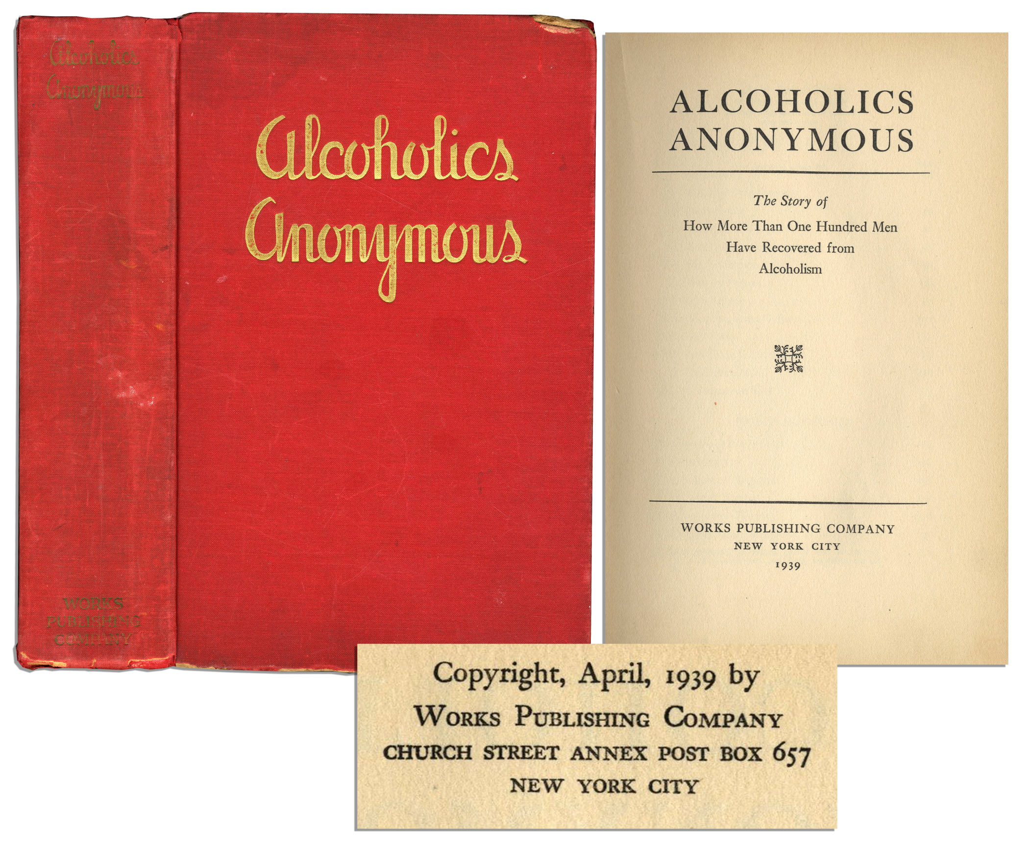 Free Appraisal Alcoholics Anonymous First Edition Worth
