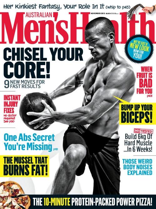 Men's Health Cover - November 2013 - Australia