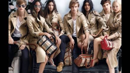 BURBERRY - Courtesy Burberry